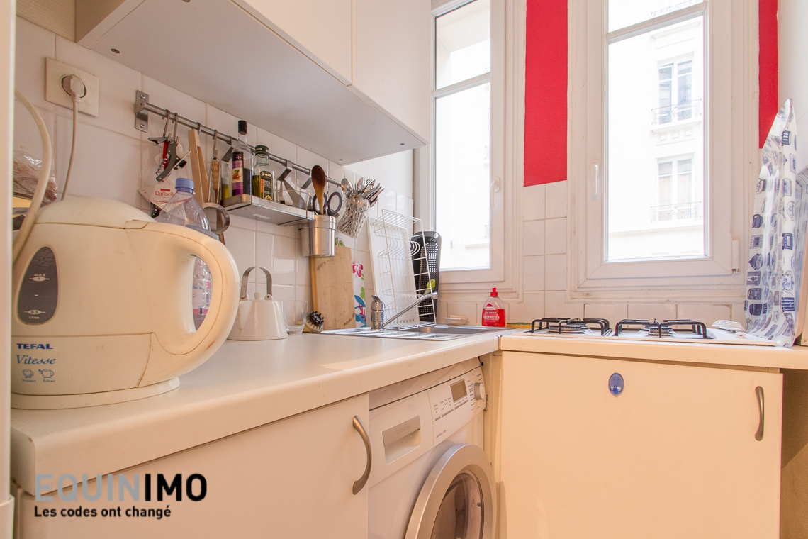 Photo n°6 - F2 de 31m² au calme rue de Beaugrenelle